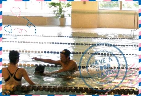 初・水泳教室